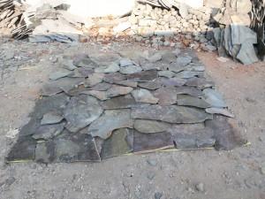 Batu Templek Acak